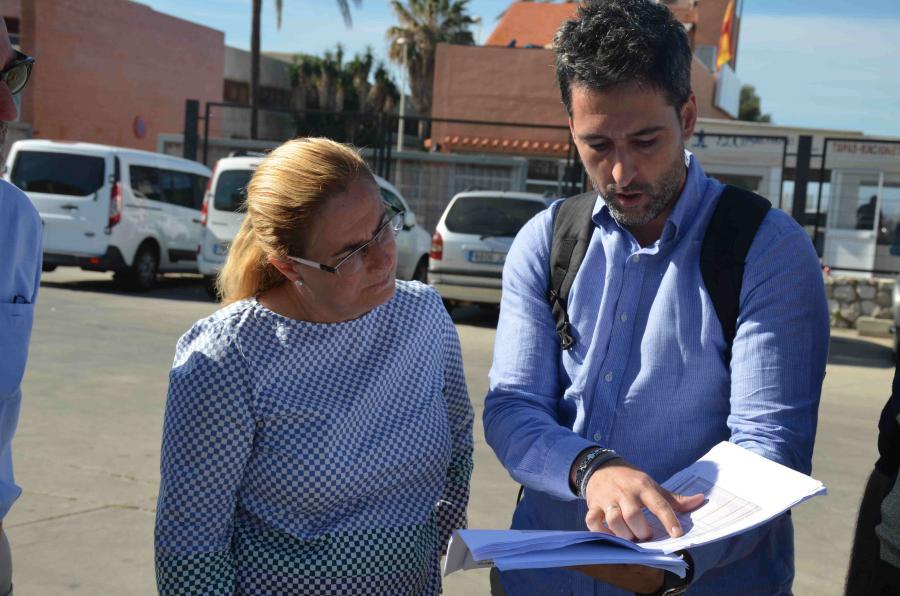Ayuntamientos Ayuntamientos Las obras de la lonja permitirán duplicar el espacio de trabajo de los pescadores de Fuengirola mientras se sigue avanzando en el proyecto de ampliación del Puerto