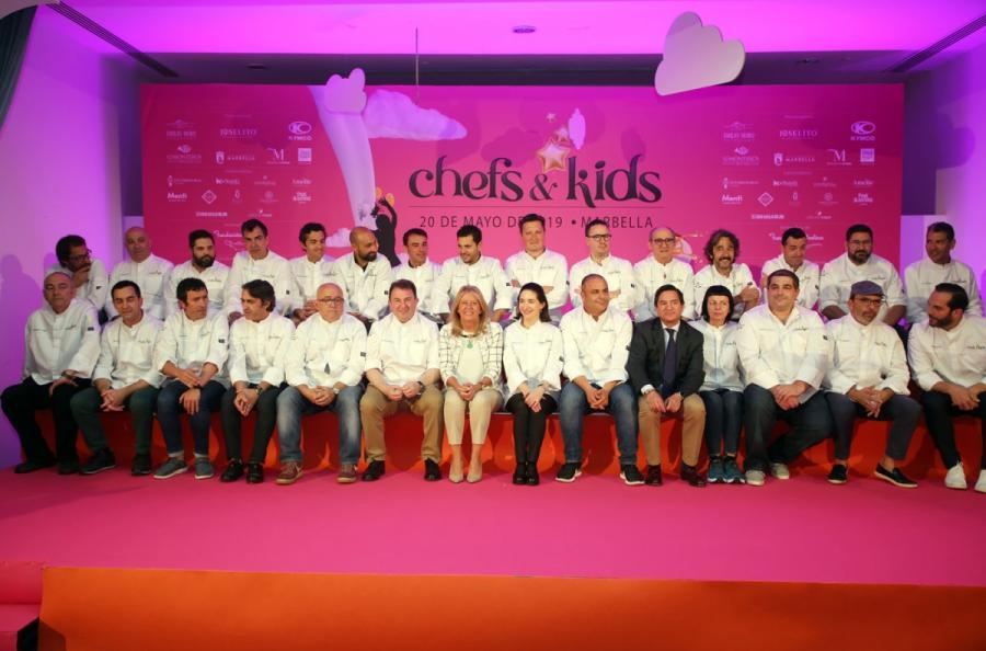 """Turismo Turismo La alcaldesa reivindica en la apertura del Chefs&Kids """"la gastronomía como un valor añadido para el turismo, ámbito en el que Marbella es un gran referente"""""""