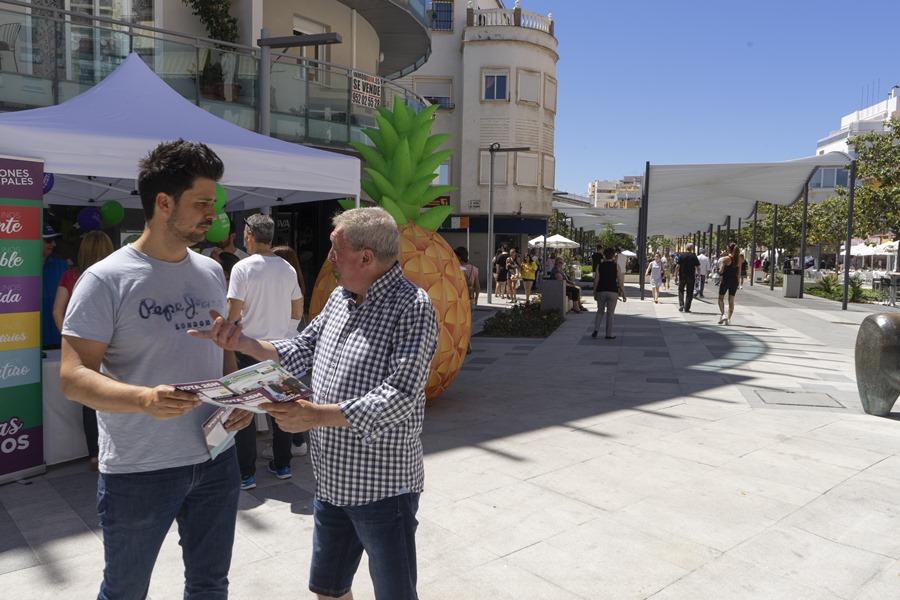 Torremolinos Torremolinos Adelante Torremolinos transformará las plazas con más zonas verdes y de ocio para todas las edades