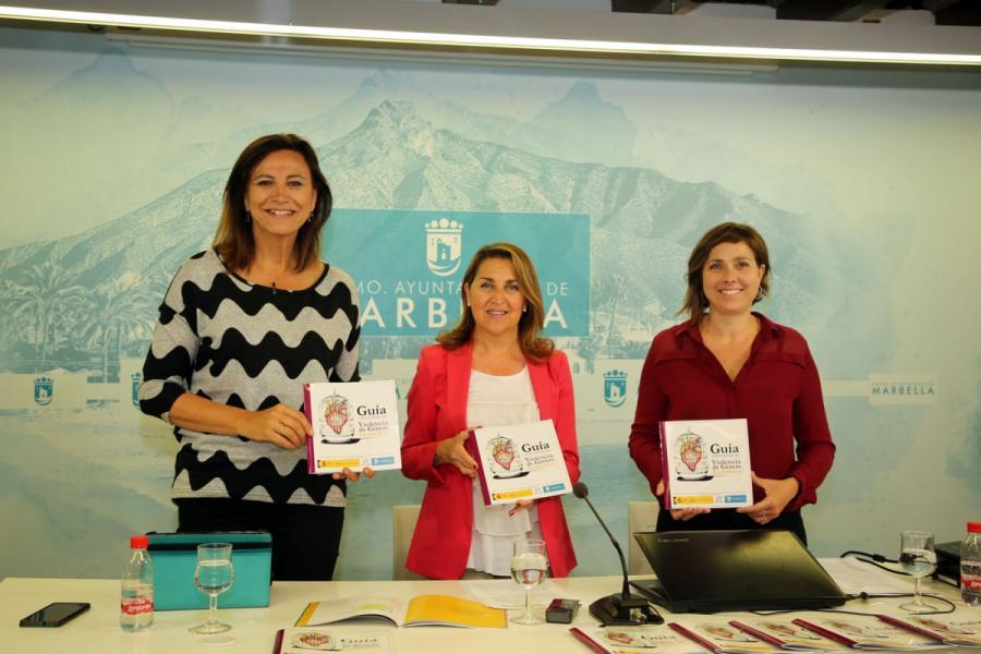 Ayuntamientos Ayuntamientos El Ayuntamiento de Marbella edita una guía informativa que ofrece a las mujeres indicadores y herramientas frente a la violencia de género económica