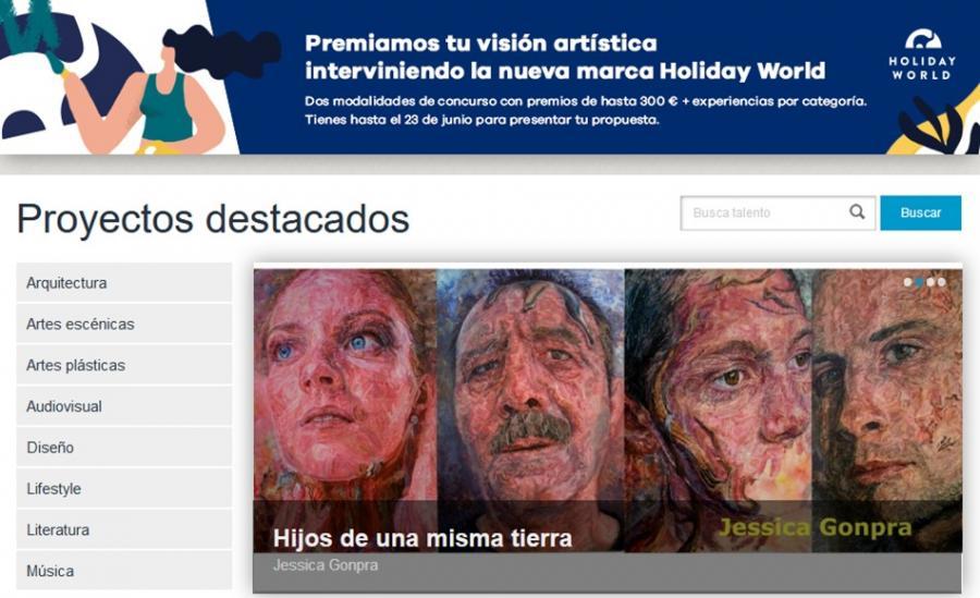 Cultura Cultura El Hydros Hotel&Spa de Holiday World pone de nuevo en marcha el proyecto artístico Art Meeting Point