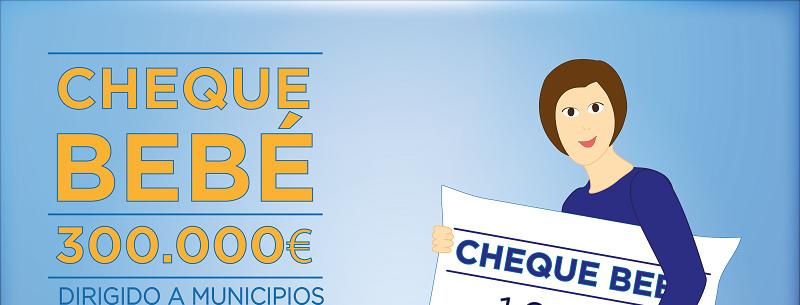Málaga Málaga La Diputación publica hoy la convocatoria de ayudas del 'cheque bebé' por un valor de 300.000 euros