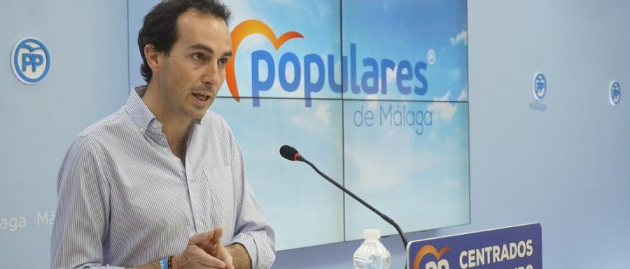 Málaga Málaga El PP destaca que el 25% de la inversión de la Junta en infraestructuras educativas es para Málaga