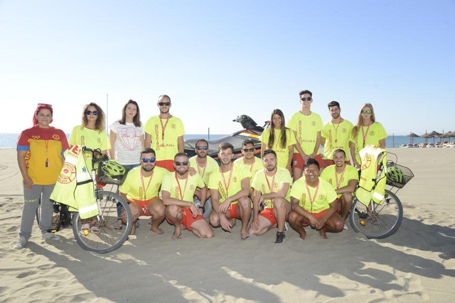Torremolinos Torremolinos La campaña de socorrismo se inaugura oficialmente en Torremolinos con el objetivo de repetir el balance de víctimas cero del año pasado