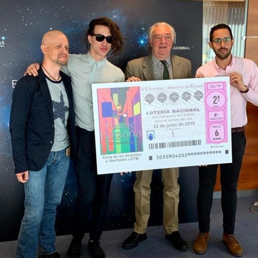 Torremolinos Torremolinos Lotería Nacional dedica el décimo del sábado 22 de junio al Pasaje Begoña de Torremolinos y habrá un acto de hermanamiento con el Stonewall Inn de Nueva York