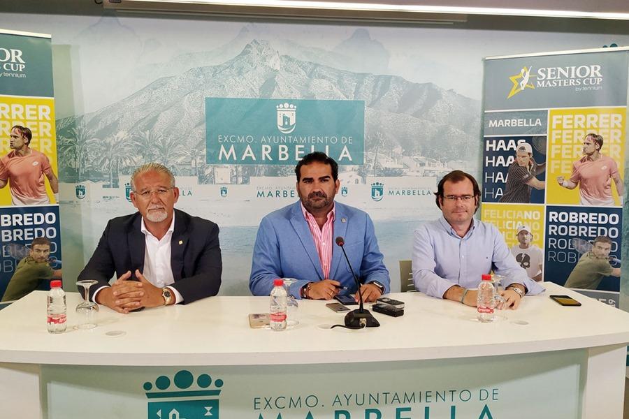 Deportes Deportes Marbella acogerá el 27 y 28 de septiembre la cuarta edición de la Senior Masters Cup con la participación de David Ferrer, Feliciano López, Tommy Robredo y Tommy Haas