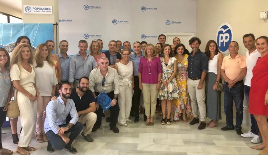 Málaga Málaga El PP de Málaga designa a los diputados provinciales de la comarca de la Costa del Sol