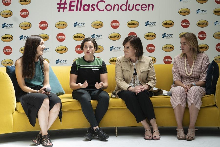 Actualidad Noticias Midas presenta #EllasConducen, una campaña solidaria para desmitificar la forma de conducir de las mujeres