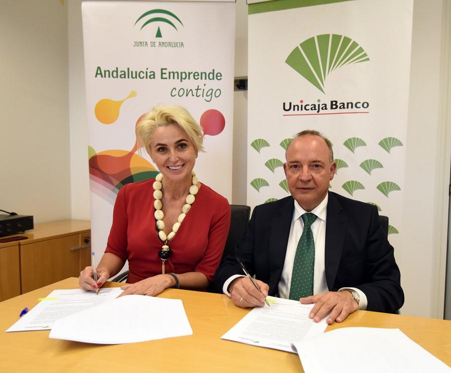 Empleo Empleo Andalucía Emprende y Unicaja Banco facilitan el acceso a financiación para emprendedores y empresas