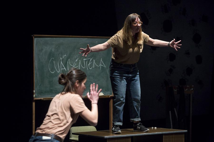 Cultura Cultura El Teatro Echegaray repone La plaga, la apuesta de Caramala por un humor más ácido y con componente social