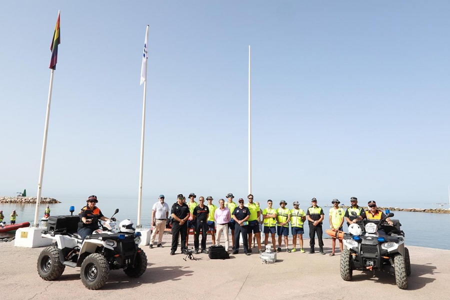 Ayuntamientos Ayuntamientos Más de 100 efectivos integran el dispositivo de emergencia en las playas de Marbella durante la temporada estival