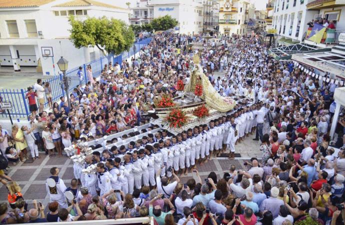 Torremolinos Torremolinos Torremolinos celebra hoy la ofrenda floral a la Virgen del Carmen