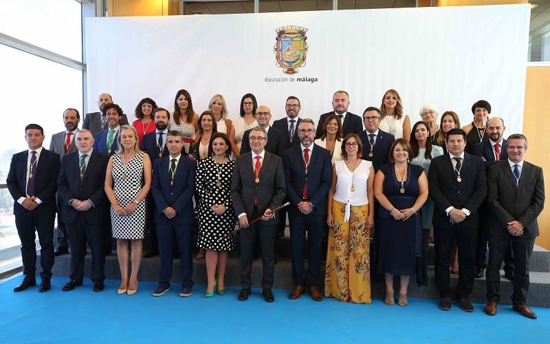 Málaga Málaga Salado anuncia que se reunirá con los 103 alcaldes de la provincia antes de final de año para diseñar la nueva Diputación