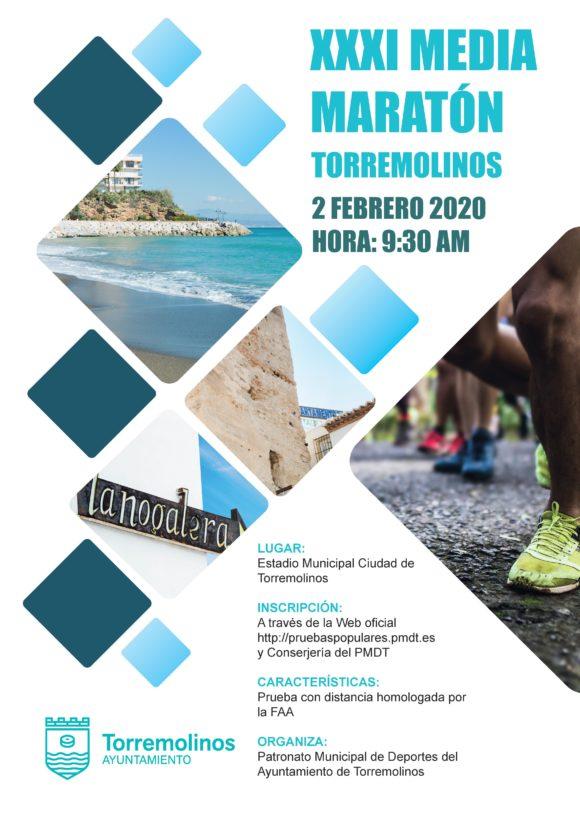 Deportes Deportes Abierto el plazo de inscripción para la XXXI Media Maratón de Torremolinos