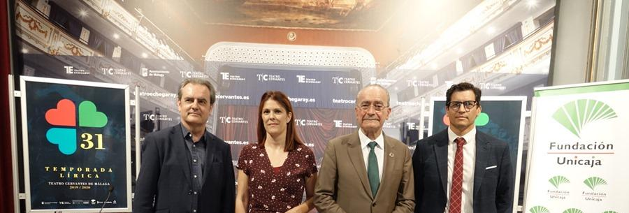 Cultura Cultura Carlos Álvarez, Nancy Fabiola Herrera, Javier Camarena y Carlos Chausson participan en la 31 Temporada Lírica del Cervantes