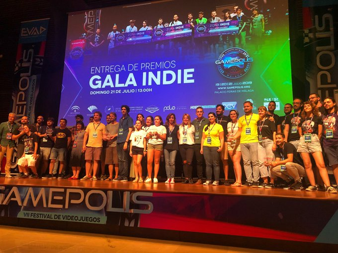 Tecnología Tecnología Gamepolis 2019 se despide premiando a los videojuegos 'Magical Prisma', 'HunttheNight' y 'Las históricas aventuras de Daniela'