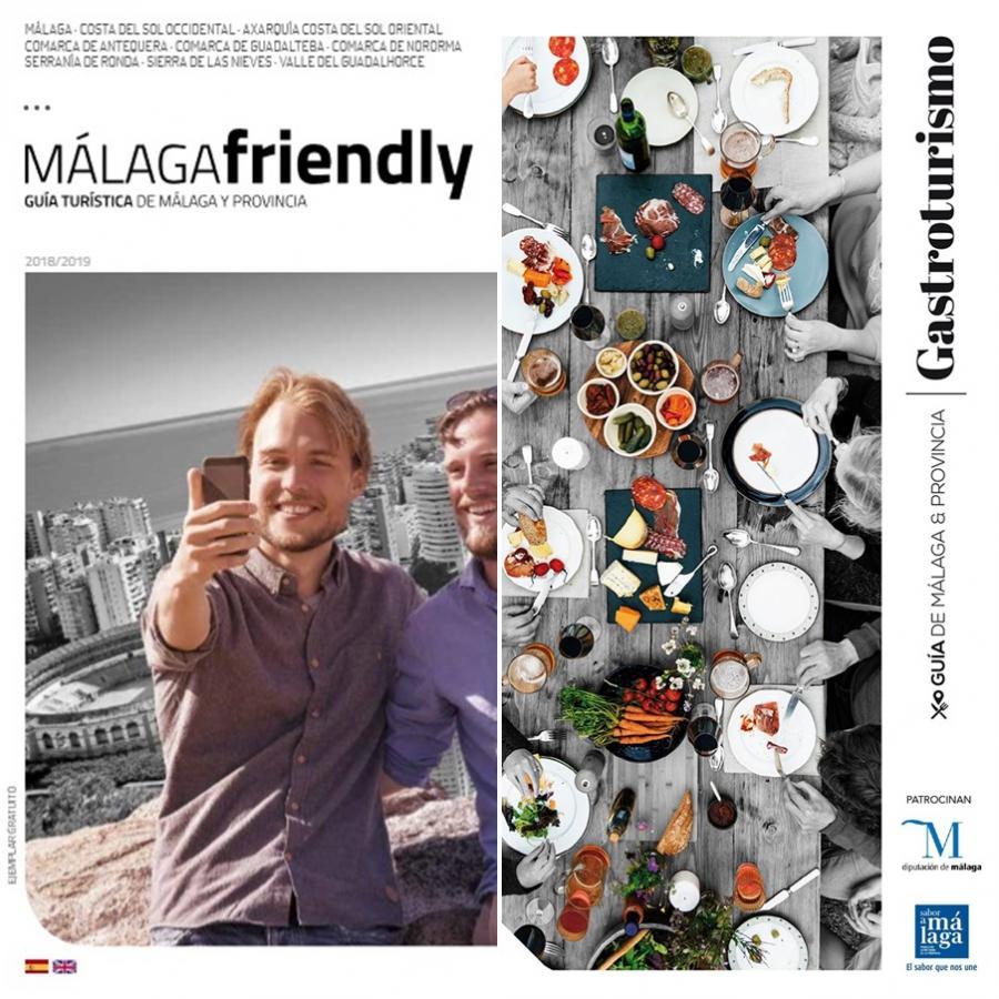 Turismo Turismo Nuevas Guías de Turismo Gastronómico y Turismo Friendly de Málaga y Provincia 2020