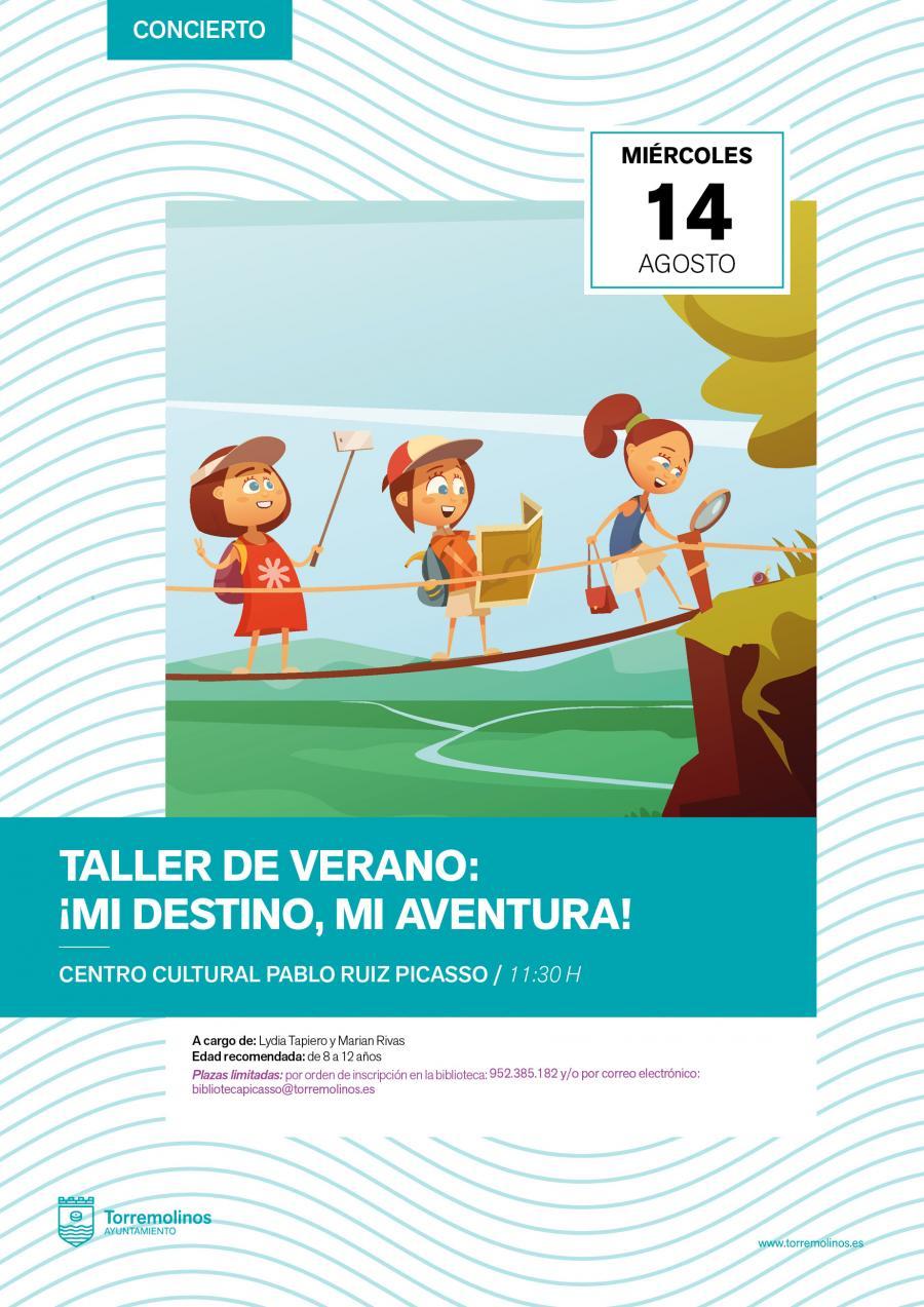 Torremolinos Torremolinos La Biblioteca Municipal de Torremolinos celebra este miércoles un taller infantil para potenciar la imaginación