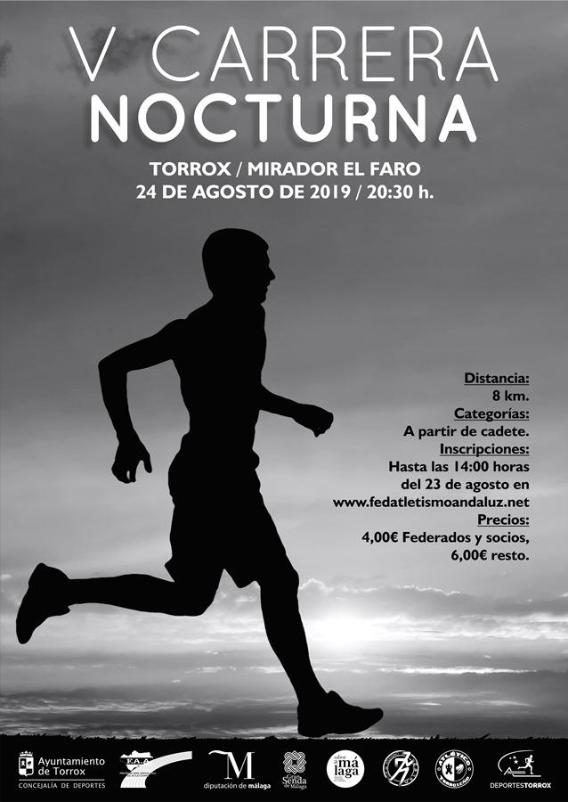 Deportes Deportes Más de 180 deportistas recorrerán la Senda Litoral a la luz de las antorchas en la V Carrera Nocturna de Torrox