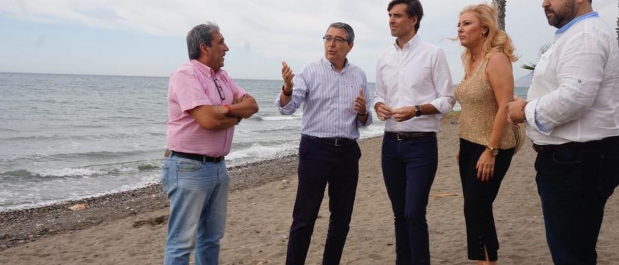 Málaga Málaga El PP pide al Gobierno fecha y hora para buscar una solución a la estabilización de las playas