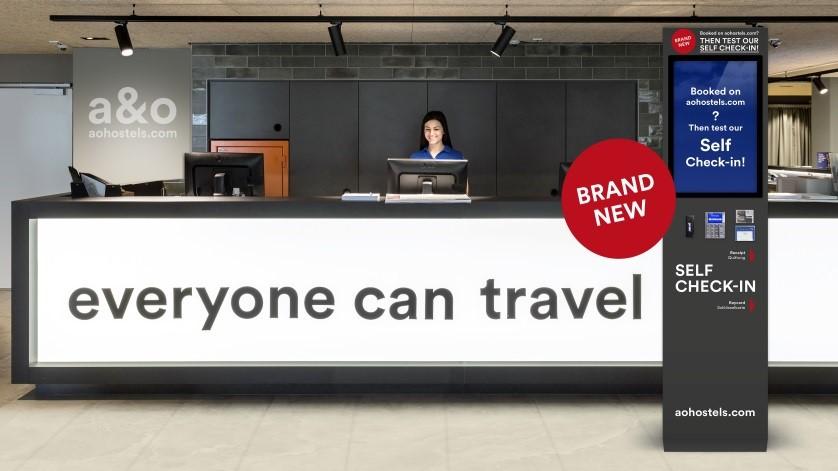 Turismo Turismo a&o Hostels desarrolla un sistema de auto check-in propio