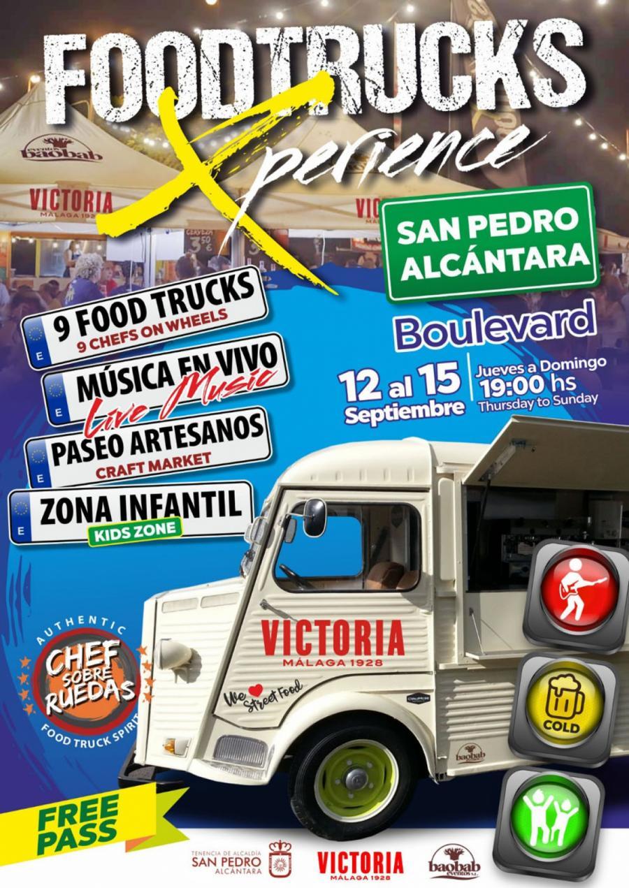 Ayuntamientos Ayuntamientos El Bulevar de San Pedro Alcántara acoge del 12 al 15 de septiembre el evento gastronómico 'Foodtrucks Xperience'