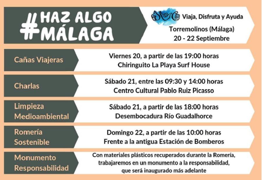 Málaga Málaga El 20 de septiembre Málaga se unirá para demostrar que somos una ciudad que actúa contra las amenazas medioambientales y sociales