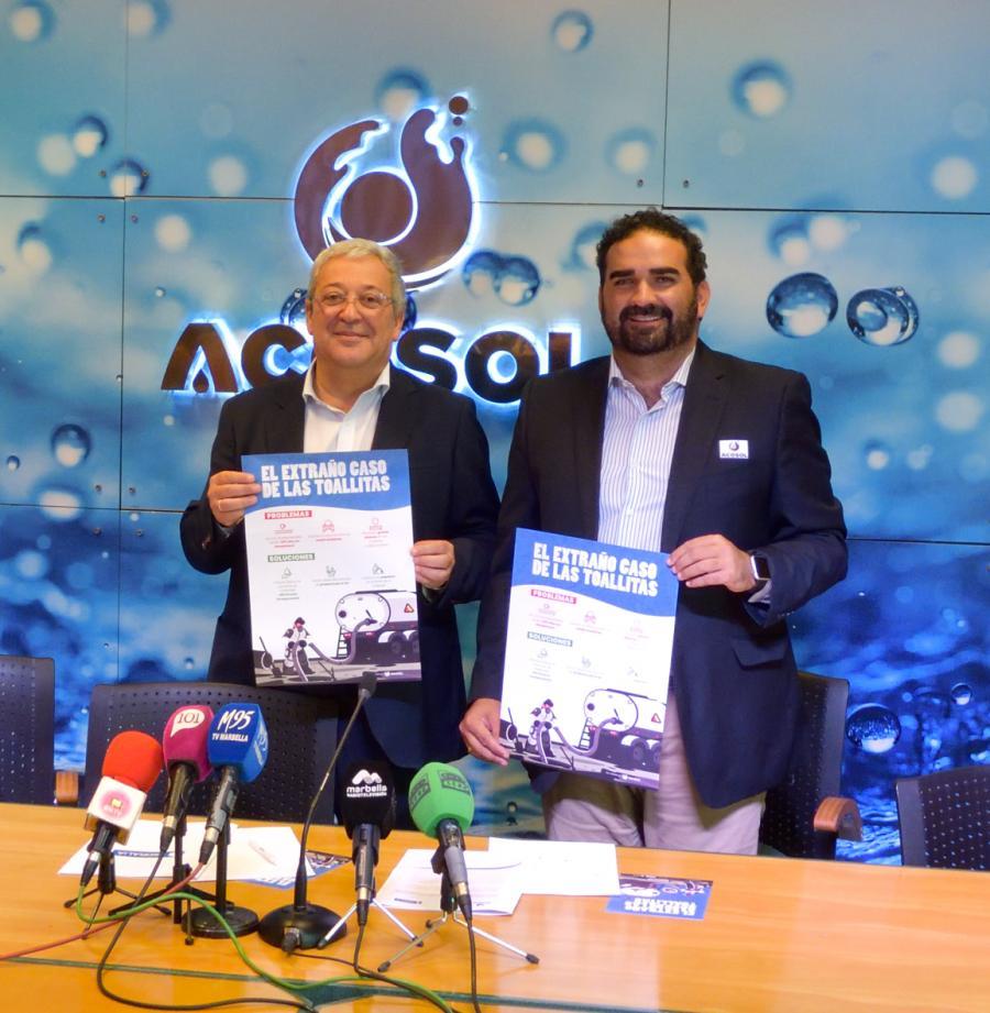 Mancomunidad Mancomunidad Acosol lanza junto a Hidralia una nueva campaña de concienciación para el uso responsable de las toallitas higiénicas en redes sociales
