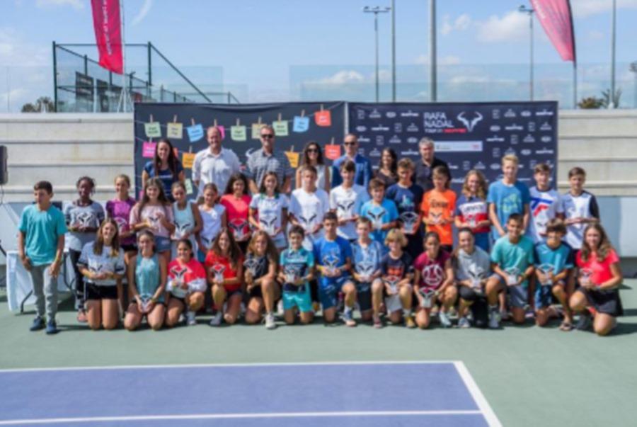Deportes Deportes El futuro del tenis español pisa fuerte  en el Rafa Nadal Tour by Mapfre, que ha concluido hoy en Mallorca su 6ª edición