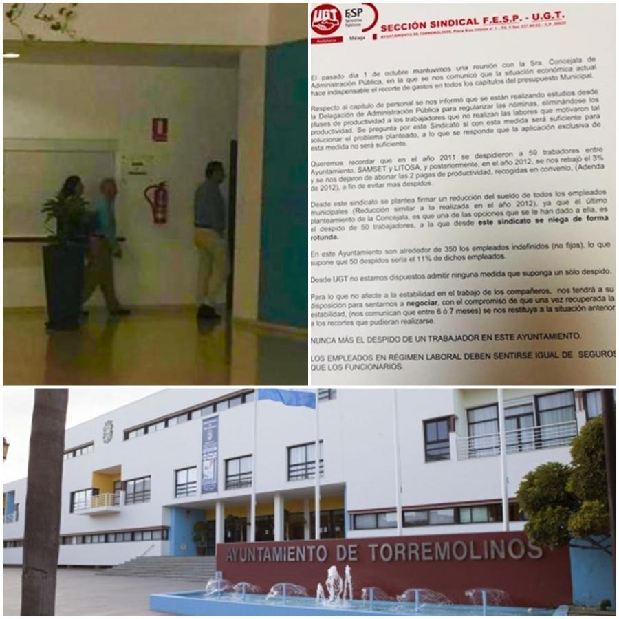 Torremolinos Torremolinos Fernández Montes ¿asesor del alcalde Ortiz en materia de recortes laborales?
