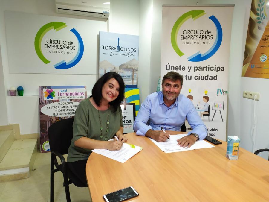 Torremolinos Torremolinos La AMPA del CEIP Benyamina y el CET renuevan el convenio de colaboración para beneficiar al comercio local