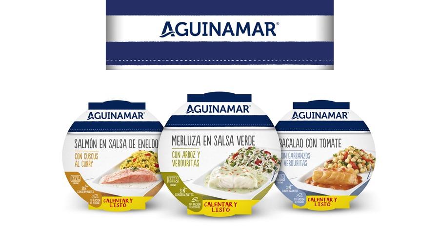 Salud Salud Aguinamar lanza una nueva gama de platos completos de pescado