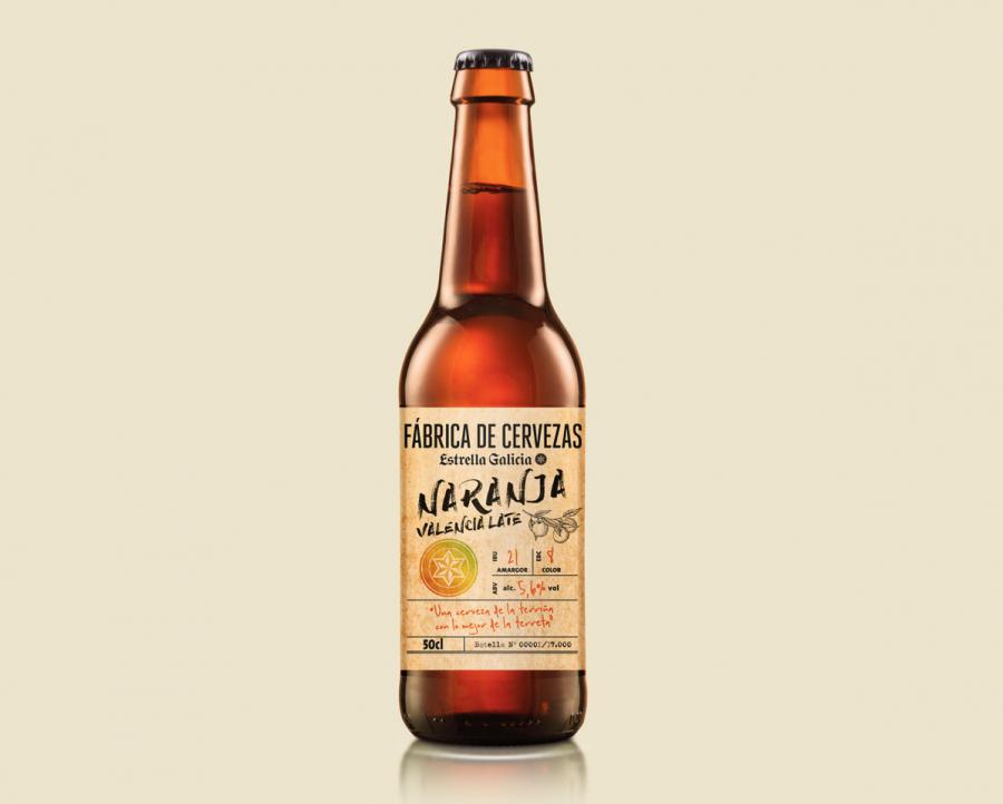 Salud Salud La naranja de Valencia, protagonista de la nueva edición de Fábrica de Cervezas Estrella Galicia
