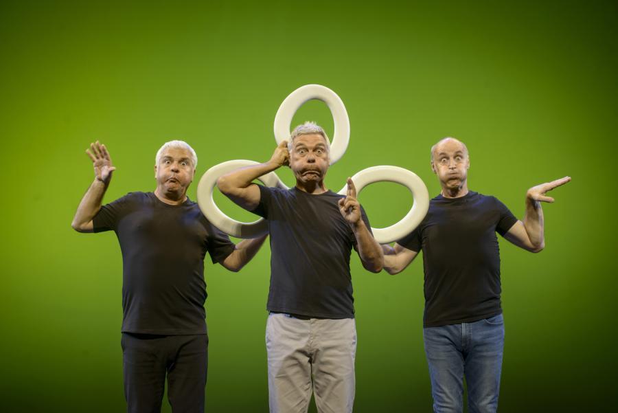 Cultura Cultura El Teatro Cervantes se prepara para cuatro pases de los Hits de Tricicle