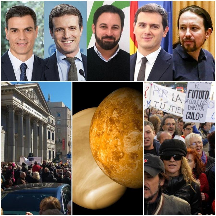 """Actualidad Noticias El drama del cisma social en España: """"Los políticos son de Marte y los ciudadanos de a pie de Venus"""""""