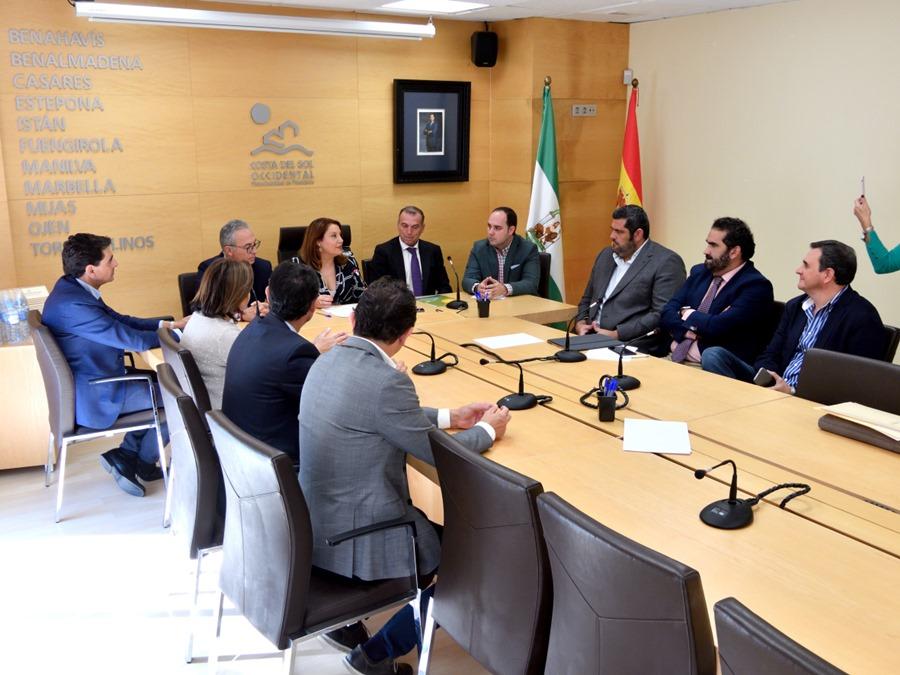 Mancomunidad Mancomunidad La Junta de Andalucía entrega a la Mancomunidad la conducción de agua desde Guadiaro a Manilva
