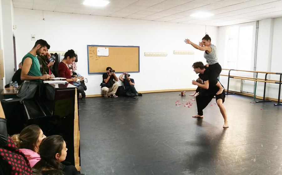 """Cultura Cultura Nieves Rosales indaga en los límites de la naturaleza humana con """"No amanece en Génova"""" en la Factoría Echegaray"""