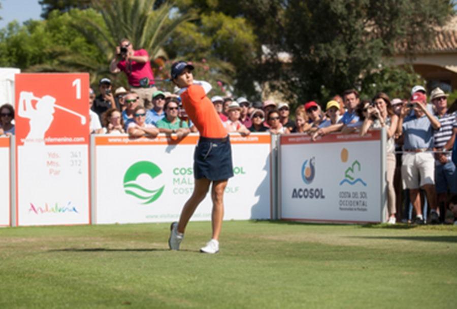 Deportes Deportes La golfista malagueña Azahara Muñoz acude al Andalucía Costa del Sol Open de España en busca de su 3º título