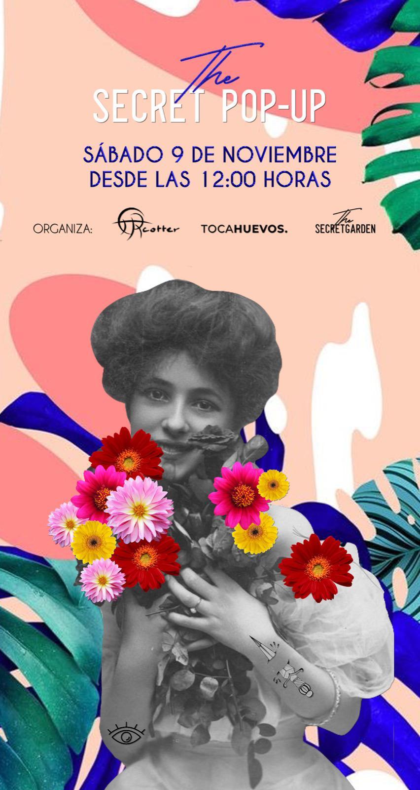 Málaga Málaga Las últimas tendencias en moda y complementos se darán cita el próximo sábado 9 de noviembre en la 2ª edición del Pop Up The Secret Garden