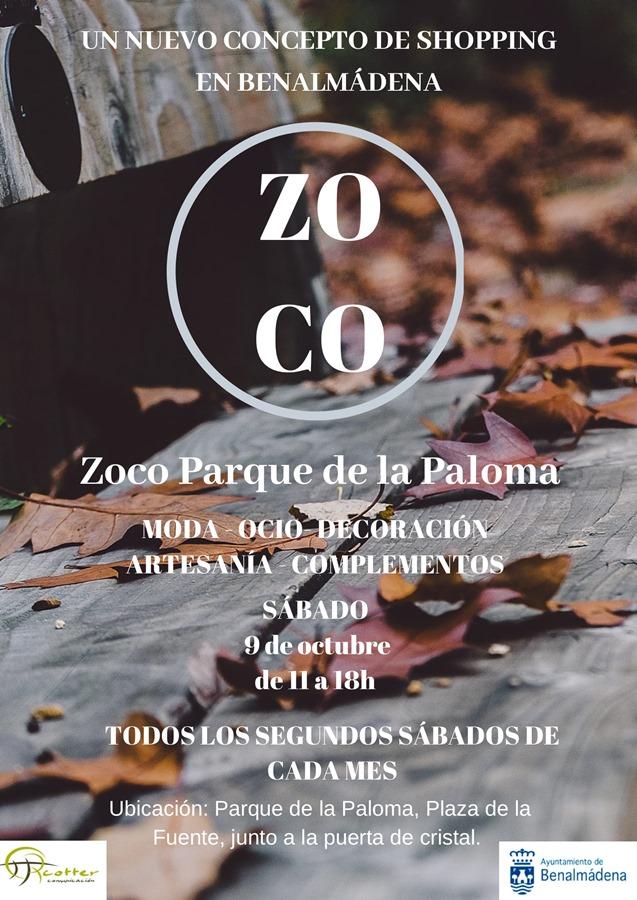 Ayuntamientos Ayuntamientos El zoco del Parque de la Paloma de Benalmádena celebrará su tercera edición el próximo sábado 9 de noviembre