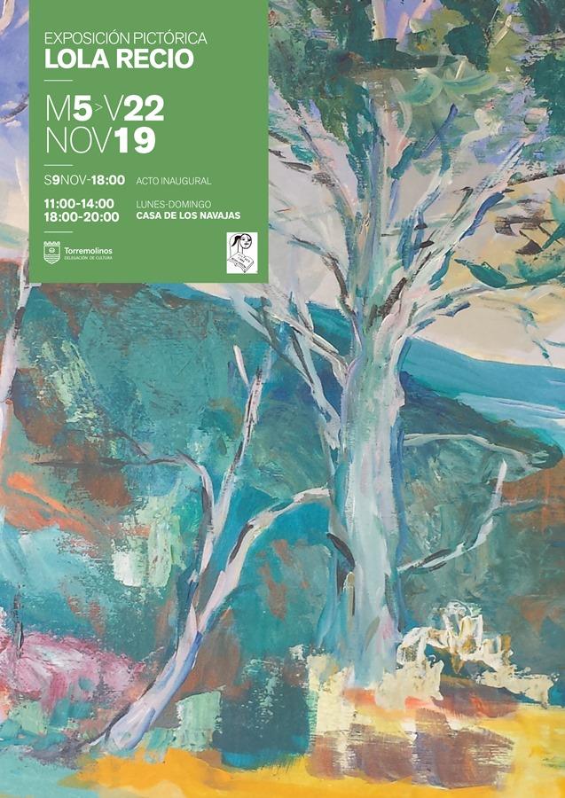 Torremolinos Torremolinos La Casa de Los Navajas acoge una exposición de pintura de la artista cordobesa Lola Recio