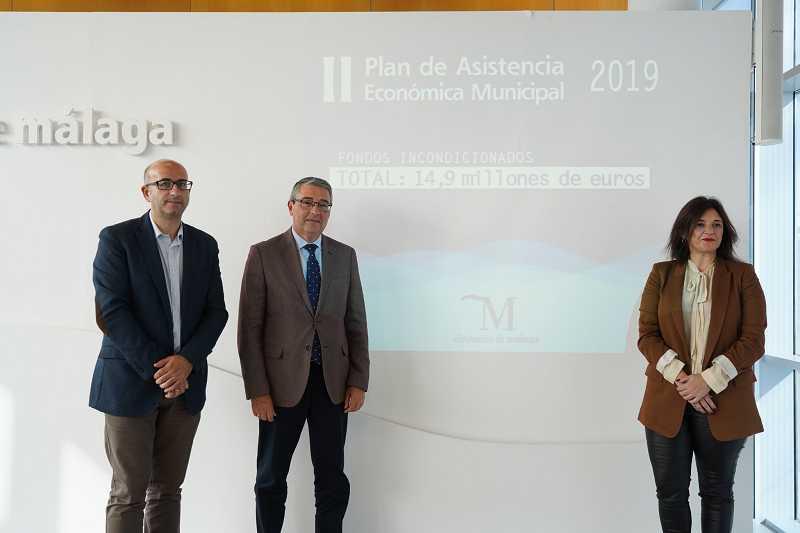 Málaga Málaga La Diputación lanza una nueva inyección económica de 14,9 millones de euros a todos los municipios de la provincia