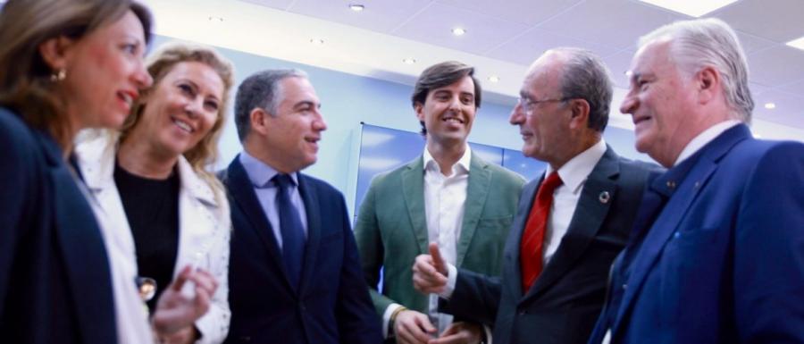 """Málaga Málaga Bendodo: """"Votar al PP hará que la revolución de Andalucía se extienda al resto de España"""""""