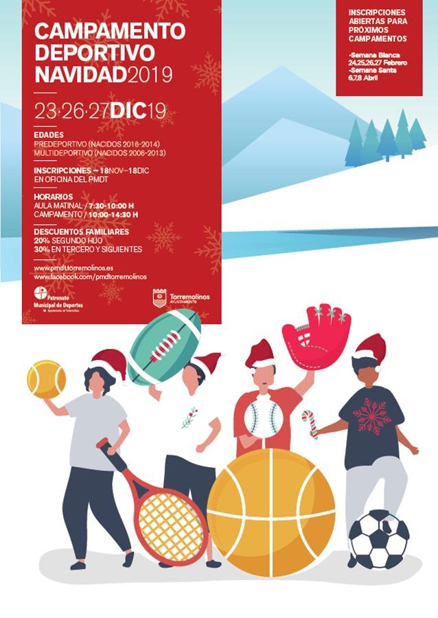 Torremolinos Torremolinos Torremolinos organiza campamentos deportivos de Navidad, Semana Blanca y Semana Santa para escolares