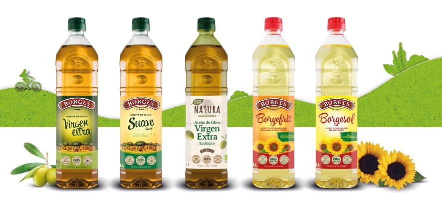 Ecologia Ecologia Borges es la primera empresa del sector de aceites en lanzar una botella rPet con un 25% de plástico reciclado