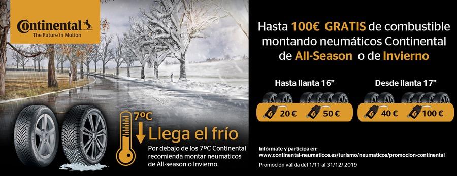 Actualidad Noticias Continental fomenta el uso de neumáticos apropiados para la época más fría del añoContinental fomenta el uso de neumáticos apropiados para la época más fría del año