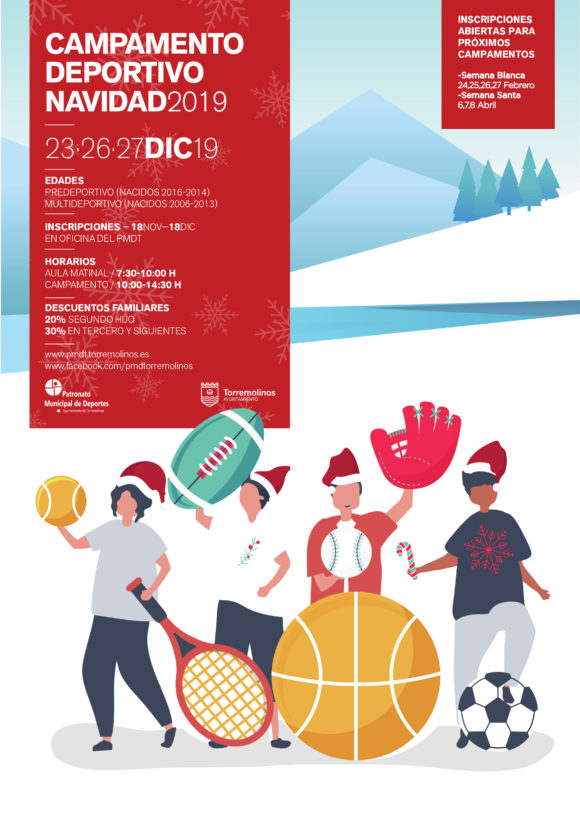 Torremolinos Torremolinos Abierto el plazo de inscripción para los campamentos deportivos de Navidad, Semana Blanca y Semana Santa de Torremolinos