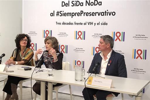 España España Sanidad, Consumo y Bienestar Social inaugura la exposición 'Del SiDa NoDa al Siempre Preservativo, Tres décadas frente al VIH y el Sida'