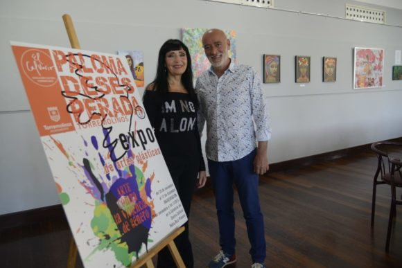 Torremolinos Torremolinos Torremolinos inaugura la exposición 'Arte contra la Violencia de Género'