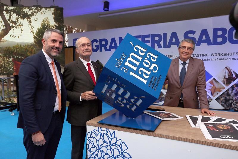 Málaga Málaga Arranca la Gran Feria Sabor a Málaga en el Paseo del Parque de la capital